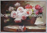 Famous abstract art flower painting, impressionist oil painting large quantities of high-quality images