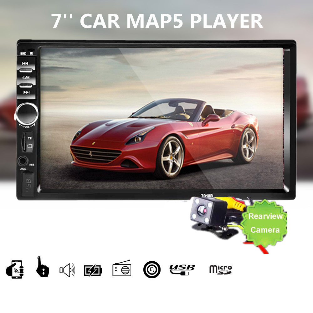 7018b 2 din 7 inch bluetooth audio in dash touch screen car radio7018b 2 din 7 inch bluetooth audio in dash touch screen car radio car audio stereo mp3 mp5 player usb support for sd mmc