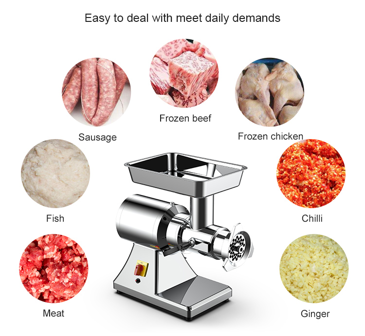 HR12MD New product electric meat mincer mixer italian commercial Meat Mincer