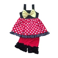 Girls Kids Summer Wear Clothing Set Children's Boutique Outfits Wholesale Baby Clothing In Bulk