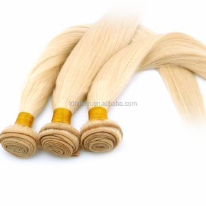 Alibaba wholesale 36 inch blonde hair extensions relaxed straight hair brazilian hair weft