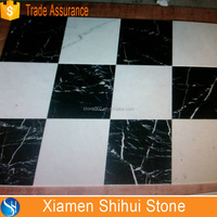 Good Quality Marble Black and white tile