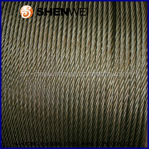Ungalvanized Steel Wire Rope Price /non-rotating Wire Rope/grease ...