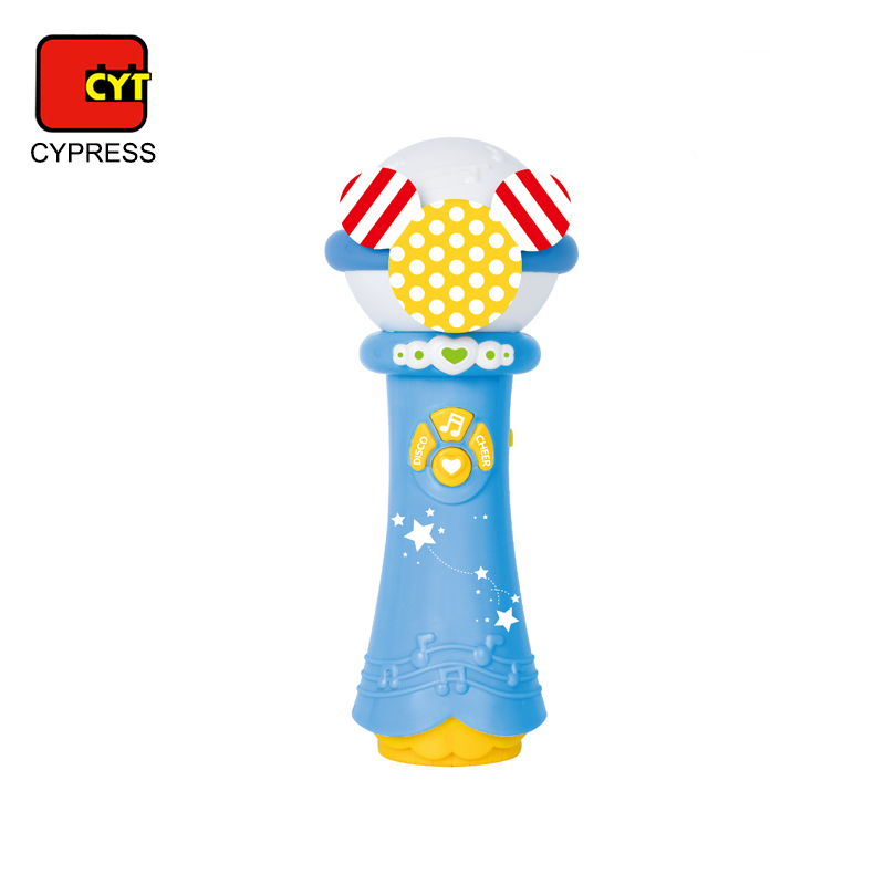 shantou wholesale plastic musical instrument toys microphone for kids