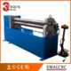 best quality 6mm 1500mm pre-bending 3 rollers mechanical plate rolling machine for steel plate