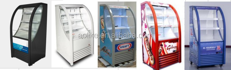 Commercial Display Chiller Refrigerator
