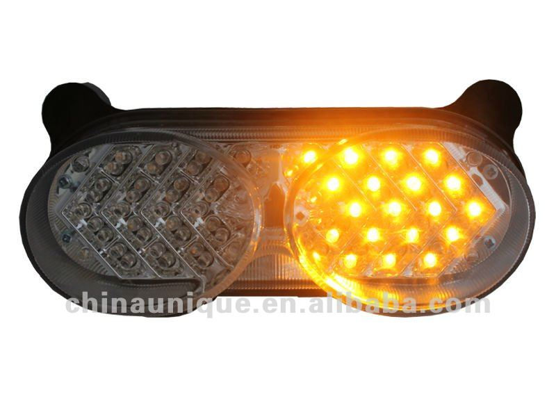 integrated Clear LED Tail Light lamp with Signals for 1998-2005 Kawasaki Ninja ZR7S ZX6R ZX9R ZZR600