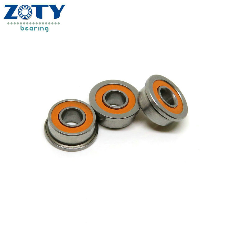 Team Associated 12th scale front wheels <strong>bearing</strong> 1/8x5/16x9/64 ceramic flanged <strong>bearing</strong>