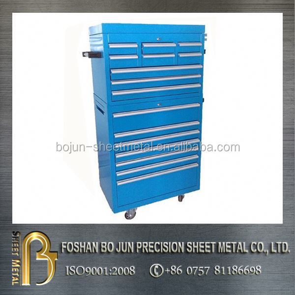 ISO certificated custom iron tool box , tool cabinets made in china
