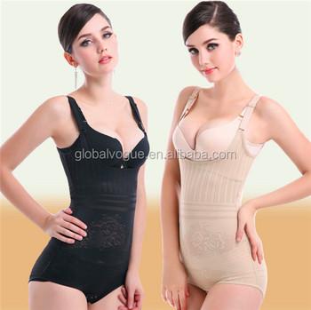 32e562bd90 Triangle Body care chest abdomen hip corset muti-buckles shapewear with  removable shoulder strap