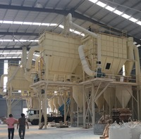 Long use life fine powder mill for non-metal minerals