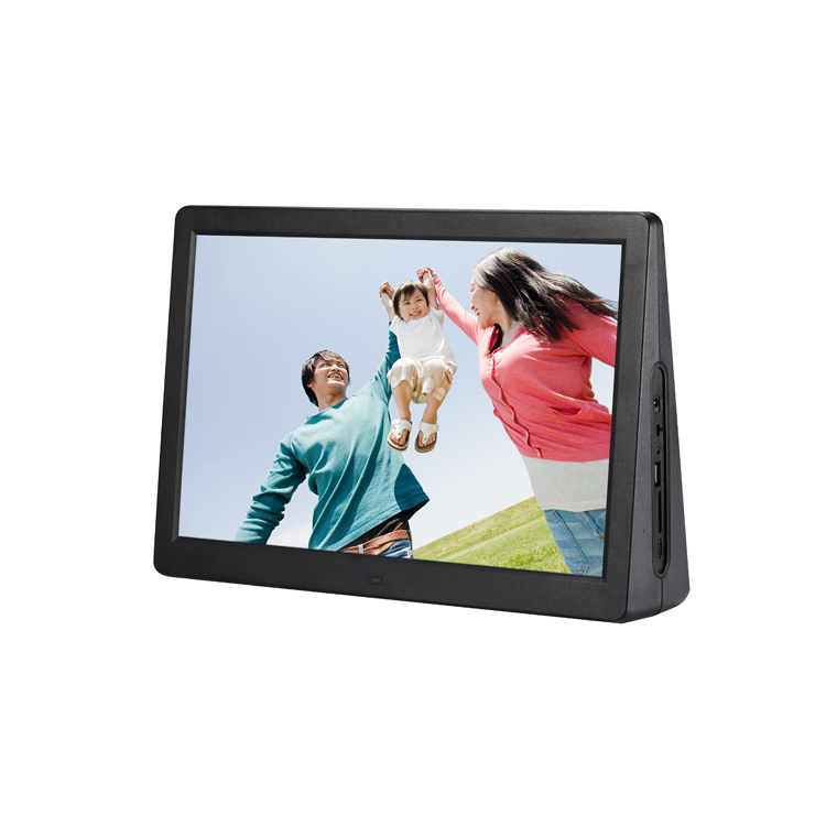 2019 New Dual Screen Display 15.4 inch Digital Picture Photo Frame for Advertising