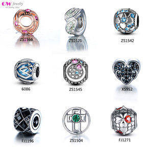 Wholesale Custom Beads Pendants Charms Sterling Silver Charms 925 Silver Charms