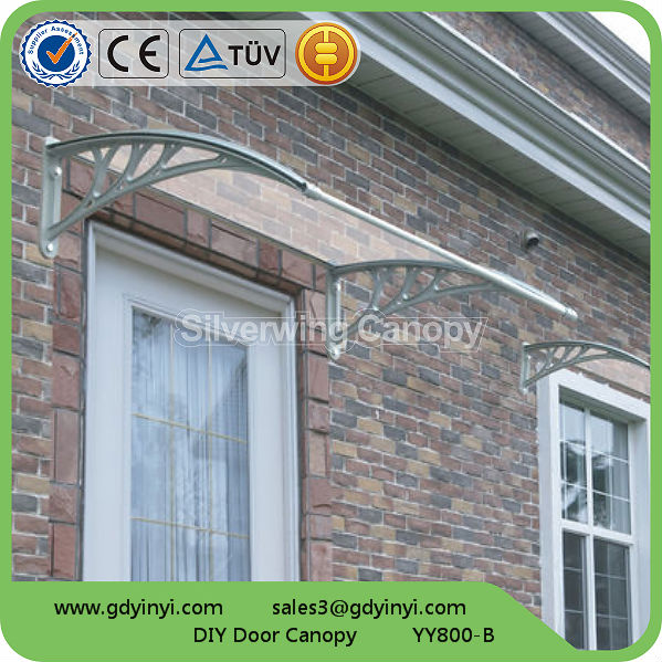 Plastic Roof Awning For Balcony Window And Door Shelter Awnings
