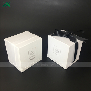 elegant candle packaging boxes for glass bottle
