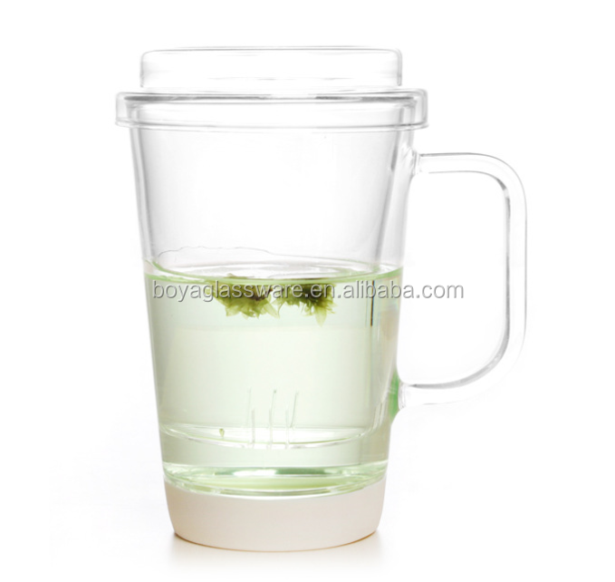 2017 New product low price Handmade Tall and Thin Drinking Glass Cup