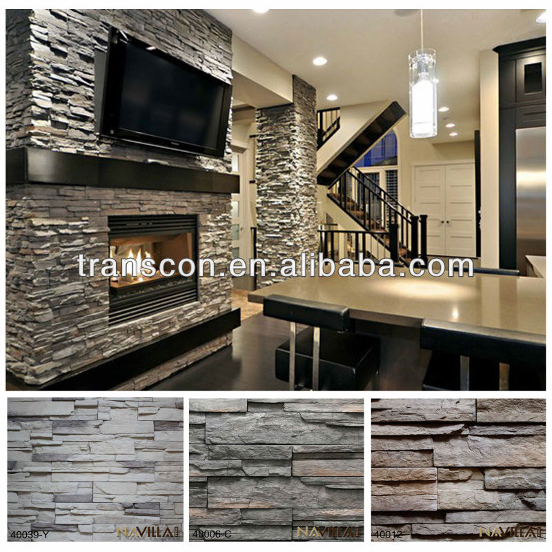 Faux Stone Shower Wall Panel For Stone Wall Decor - Buy Faux Tile ...