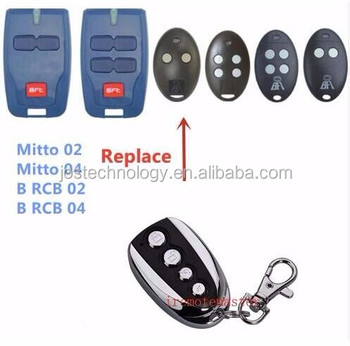 Replacement Remote For Bft Mitto 2m Mitto 4m 0578 0678 Garage Door