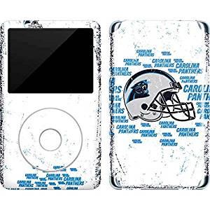 NFL Carolina Panthers iPod Classic (6th Gen) 80 & 160GB Skin - Carolina Panthers - Blast Vinyl Decal Skin For Your iPod Classic (6th Gen) 80 & 160GB