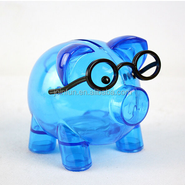 Transparent money box;Clear money box;Clear plastic money box
