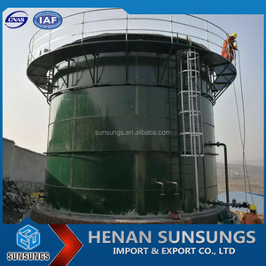 Large scale biogas plant/food waste biogas digester