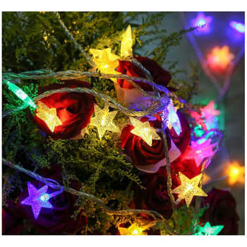 Led Christmas Lights For Room.Led String Chandelier Lights Full Day Star Room Decoration Lights Christmas Neon Battery Small Lanterns Buy Led Shooting Star Christmas