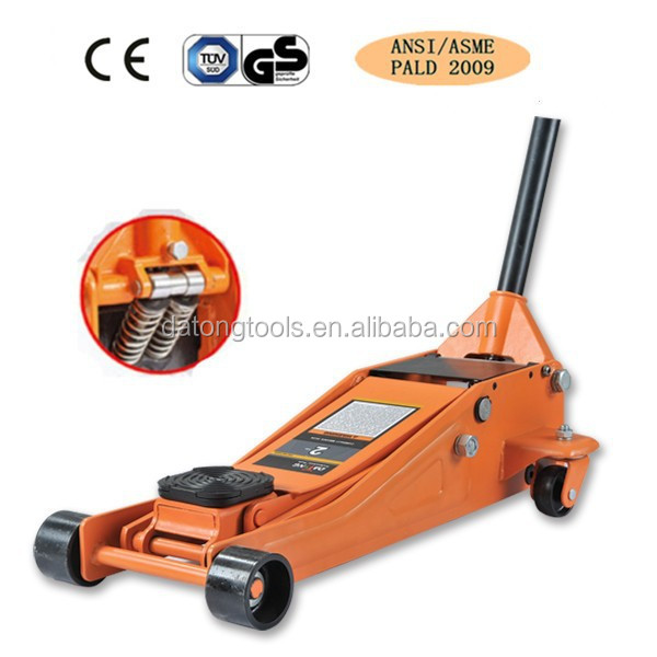 Low Profile 2 Ton Hydraulic floor Jacks CE approved