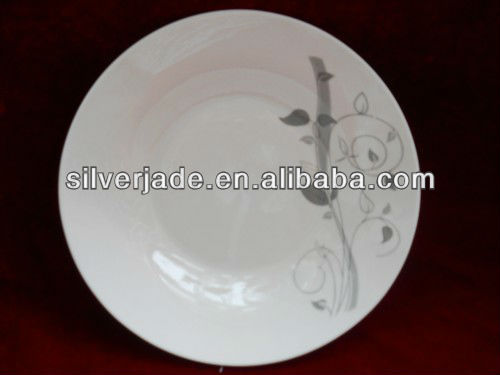 ceramics food serving soup plate set