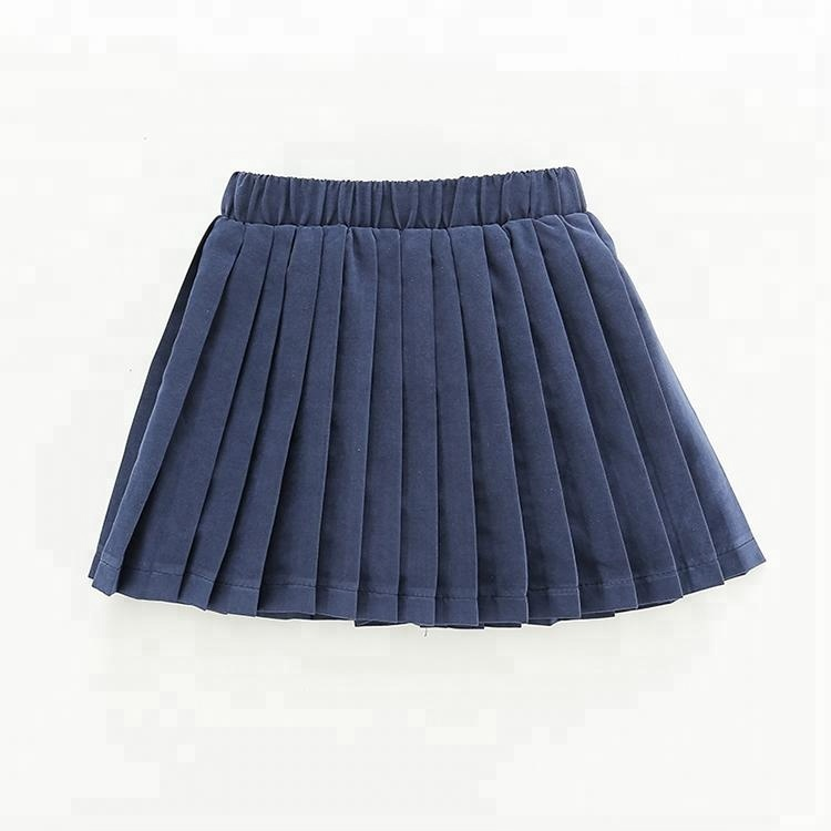 Mini Pleated Skirt Kids School Style Korean Girls Short Skirt