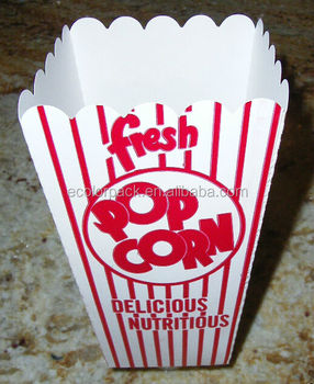 popcorn boxes for sale paper popcorn box popcorn box size