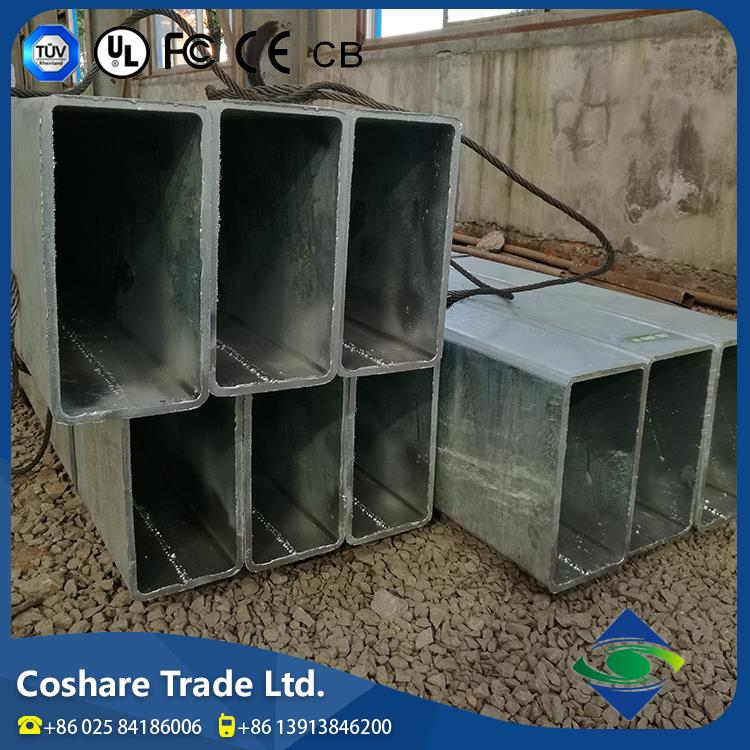 COSHARE- On time delivery Good feedback mild steel square and rectangular pipes