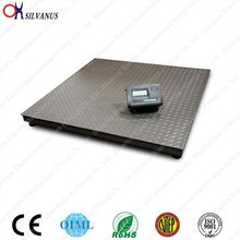 1.5*2m Steel structure weighing Floor Scale with indicator