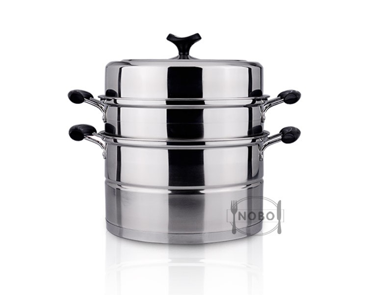 Indian small kitchen stainless steel food steamer utensils