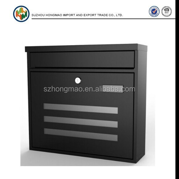 New China Galvanied Steel Outdoor Letter Box Manufacturer