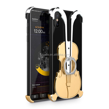 Trend <span class=keywords><strong>violine</strong></span> cooles design metall harte stehen <span class=keywords><strong>ring</strong></span> stil handy rückseitige abdeckung für iphone x 8 7 plus