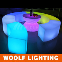 multi color wireless led outdoor reclining chair