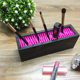 Bulk Portable Silicone Rectangle Cosmetic Stand Makeup Brush Holder