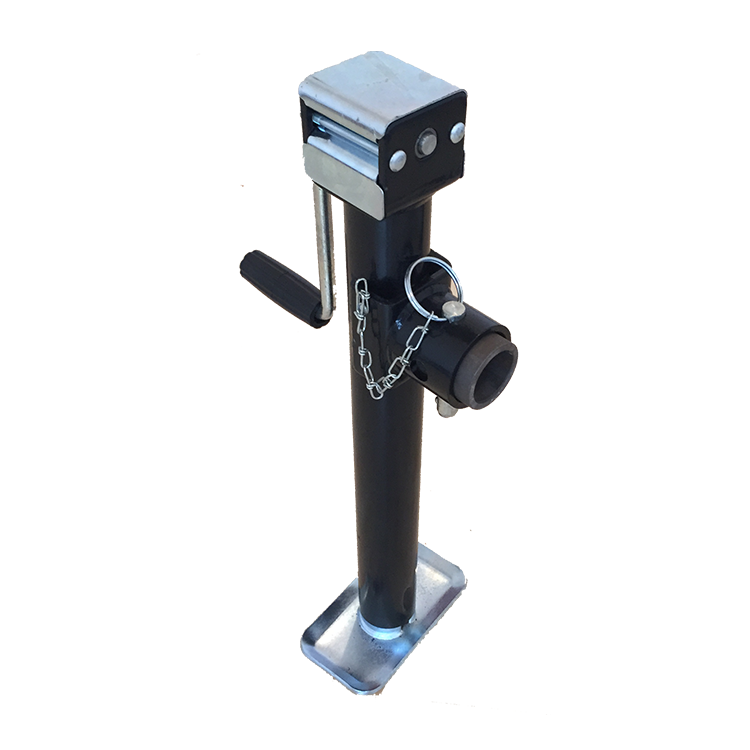 Powder Coated Round Tube Trailer Jack For Sale