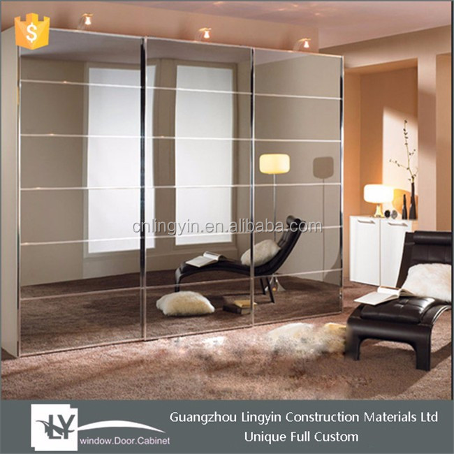 Double Color Almirah Wardrobe Design Furniture Bedroom Cabinet With Mirror  Glass - Buy Double Color Wardrobe Design,Almirah Bedroom Cabinet,Cabinet ...