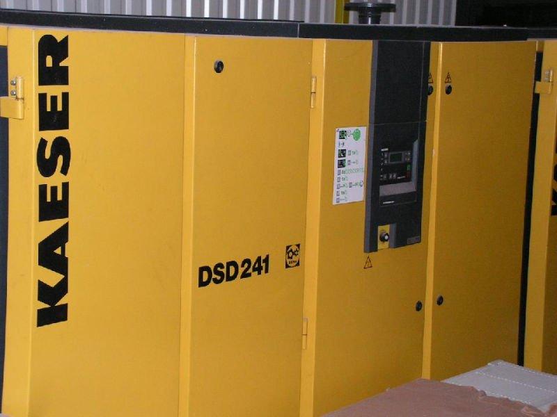 Air Compressors Kaeser Dsd 241 Used Rotary Screw