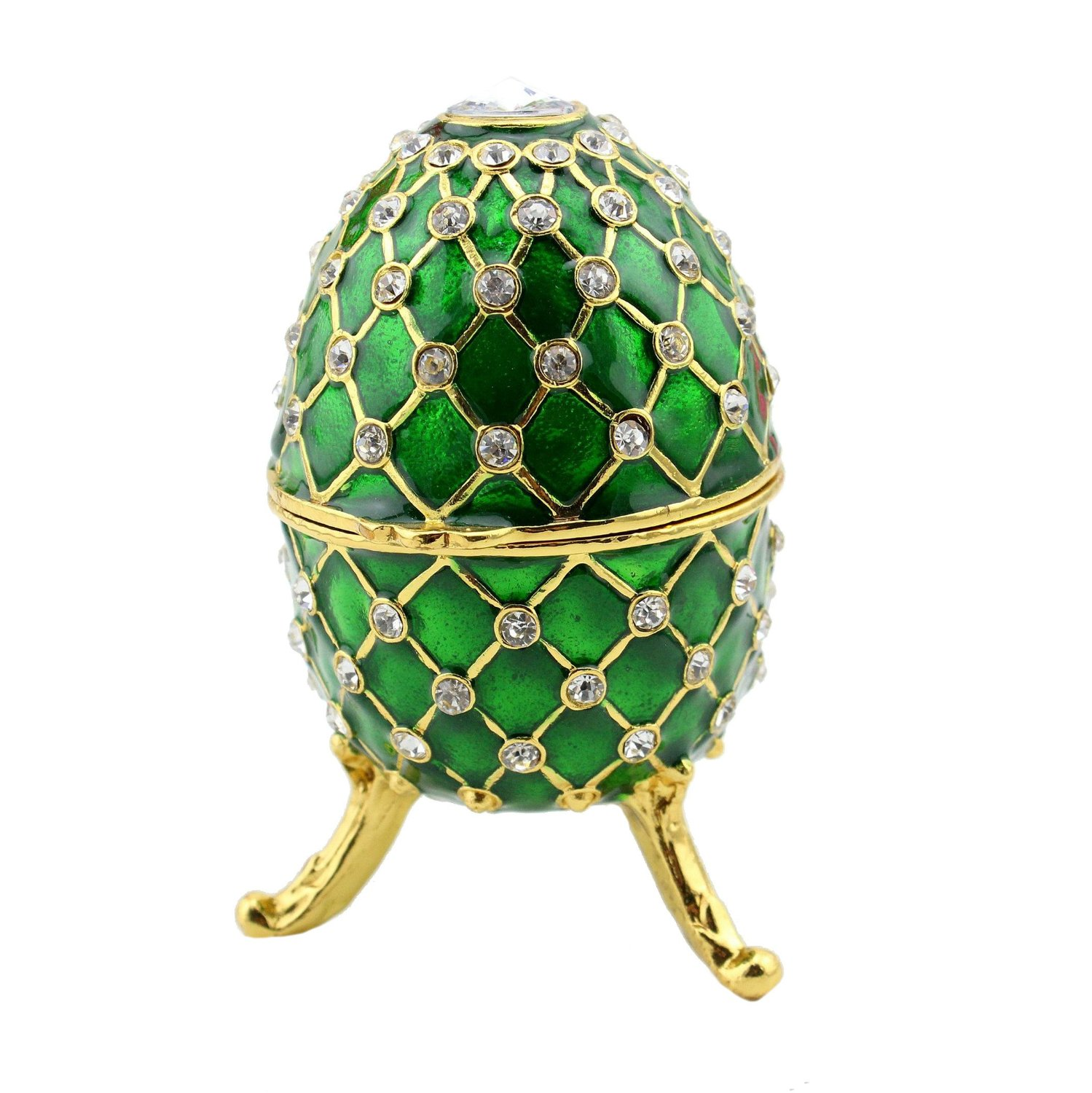 Cheap egg shaped trinket box find egg shaped trinket box deals on get quotations new fashion easter metal crafts gifts faberge egg trinket box egg shaped jewelry box for women negle Images