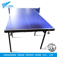 International standard size top grade sports training play game mini child table tennis table