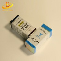 A set of pharmaceutical packaging products high quality 10ml vial paper steroid anabolic box