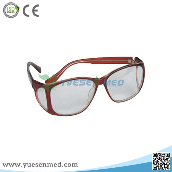Protective x ray glasses