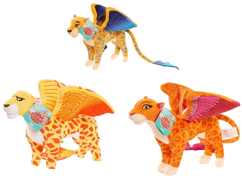 Disney Elena Of Avalor Plush Toy Set Migs Luna & Skylar Jaquins