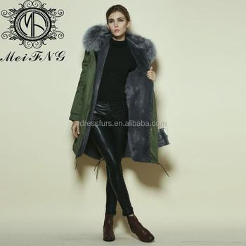 Woman Elegant Parka Russian Fur Coats,Long Style Latest Design ...