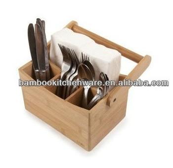 nat rliche bambus besteck caddy besteckhalter buy bambus besteck caddy besteckhalter tisch. Black Bedroom Furniture Sets. Home Design Ideas