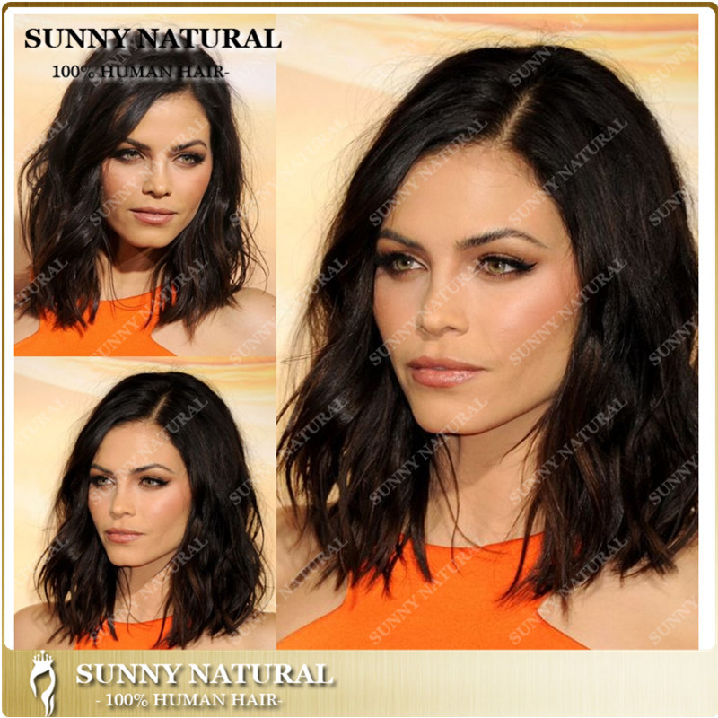 New arrival popular texture short bob style brazilian hair full lace wig tangle free human hair lace front wig