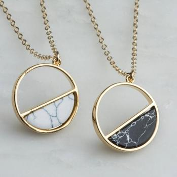 68ffde66dfa Bohemian Full Half Moon Gold Marble Moon Pendant Stone Turquoise Blue Moon  Necklace - Buy Turquoise Necklace,Gemstone Gold Circle Necklace,Stone Moon  ...