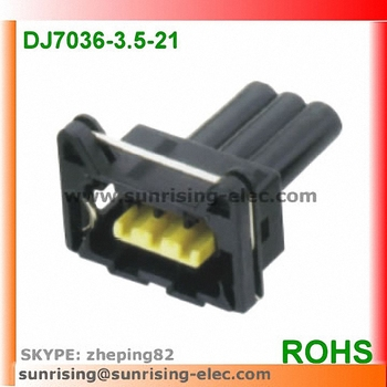 auto 3 pin female wire harness connector wire splice connector buy rh alibaba com